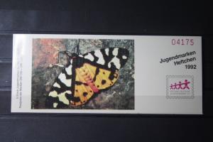 Jugendmarken Heftchen 1992, Stiftung Deutsche Jugendmarke