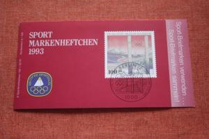 Sport Markenheftchen 1993 der Sporthilfe, Für den Sport