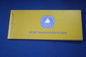 Sport Markenheftchen 1981 der Sporthilfe, Für den Sport