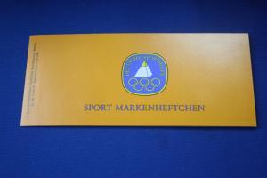 Sport Markenheftchen 1985 der Sporthilfe, Für den Sport