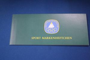 Sport Markenheftchen 1983 der Sporthilfe, Für den Sport