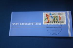 Sport Markenheftchen 1989 der Sporthilfe, Für den Sport