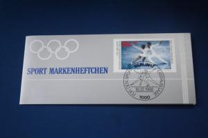 Sport Markenheftchen 1988 der Sporthilfe, Für den Sport