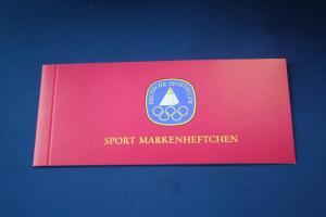 Sport Markenheftchen 1979 der Sporthilfe, Für den Sport