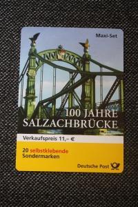 Markenset, Maxi-Set, Markenheft MH-Mi.-Nr.  52, Salzachbrücke