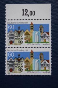 1250 Jahre Bad Hersfeld; mit Plattenfehler PF V