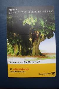 Markenheft, Maxi-Set, MH-MiNr. 45, Linde zu Himmelsberg