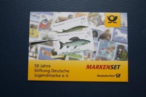 Markenheft MH 100, Markenset Für die Jugend 2015, Süßwasserfische