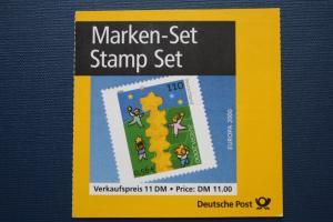 Markenheft MH 41, Marken-Set EUROPA 2000