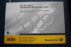 Markenheft MH 47, Marken-Set Für den Sport 2002