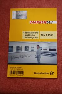 Folienblatt, FB 32, Markenset  Gerhard Richter: Seestück