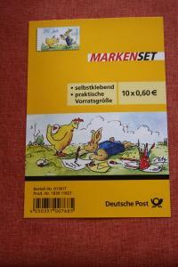 Folienblatt, FB 37, Markenset  Peter Gaymann-Zeichnungen, Ostergeschenk
