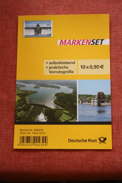 Folienblatt, FB 30, Markenset  Möhnetalsperre 0