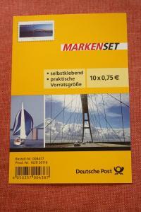Folienblatt, FB 29, Markenset  Fehmannsundbrücke