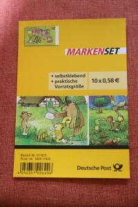 Folienblatt, FB 28, Markenset  Janosch: Ostern