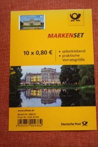 Folienblatt, FB 43, Markenset  Schloss Ludwigslust