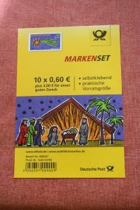 Folienblatt, FB 40, Markenset  Weihnachten