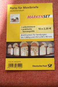 Markenset, MaxiSet, Markenheft MH-Mi.-Nr. 82, St.-Michaelis Kirche, Hildesheim
