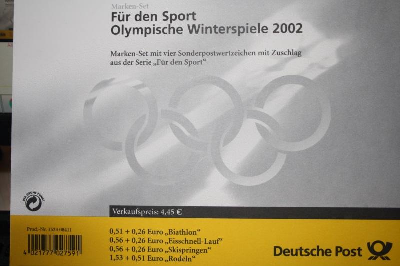 Markenheft MH 47, Marken-Set Für den Sport 2002 0