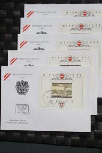 WIPA 1981 Wien; incl. der 216 seitigen Festschrift zum 100. jährigen Jubiläum, den Phasendrucken, Schwarzdrucken u. d. m. 0
