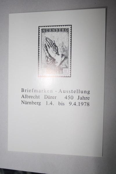 Albrecht Dürer Schwarzdruck; Faksimile 1978