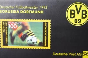 Erinnerungsblatt der Deutsche Post ; Borussia Dortmund 1995