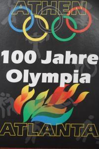 Erinnerungsblatt der Deutsche Post ; 100 Jahre Olympia