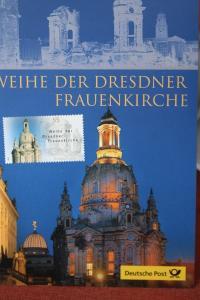 Erinnerungsblatt der Deutsche Post ; Dresdner Frauenkirche
