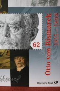 Erinnerungsblatt der Deutsche Post ; Bismarck