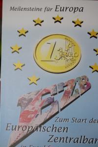 Erinnerungsblatt der Deutsche Post ; EZB