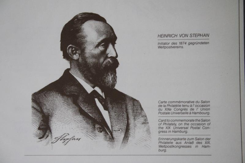 Erinnerungsblatt der Deutsche Post ; Weltpostkongress Hamburg /H. von Stephan
