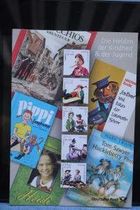 Erinnerungsblatt EB 3/2001; Gedenkblatt; Jugendmarken; Figuren aus Kinderbüchern