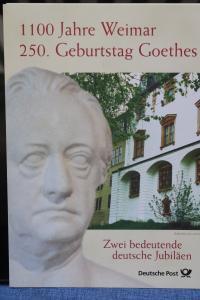 Erinnerungsblatt EB 4/1999; Gedenkblatt; Gethe/Weimar