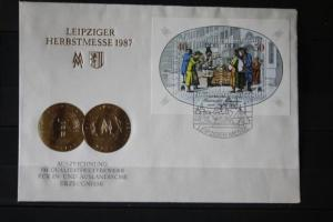 Leipziger Messe, Herbstmesse 1987, FDC