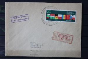 Frieden und Kultur Karl-Marx-Stadt; 9010 FK; auf Inlandsbrief mit Quittung