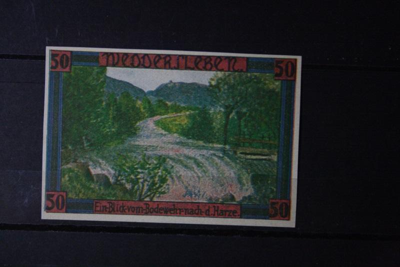Notgeld, Gutschein, Weddersleben,  50 Pf.