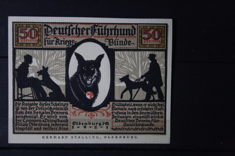 Notgeld Oldenburg, 50 Pf.