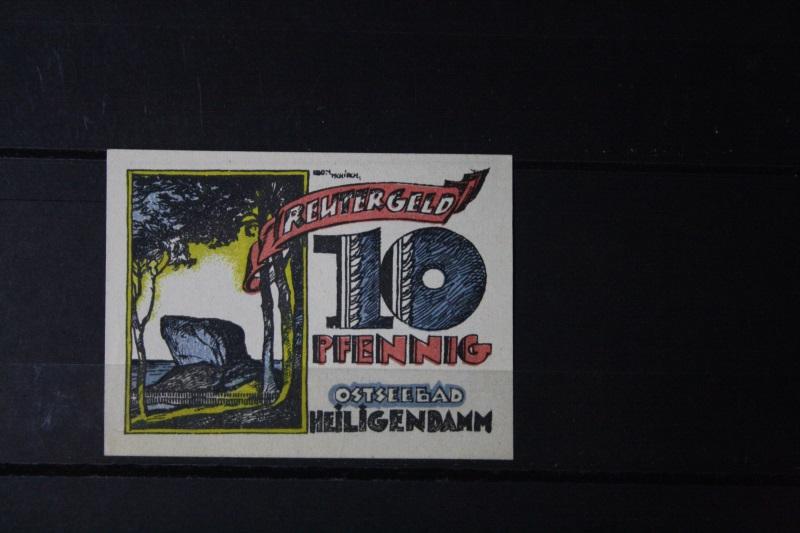 Notgeld Heiligendamm, 10 Pf.
