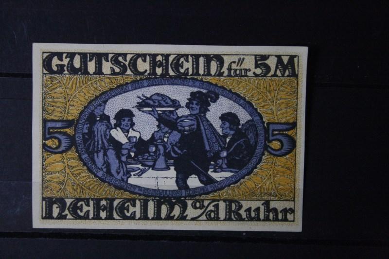 Notgeld Neheim, 5 Mark