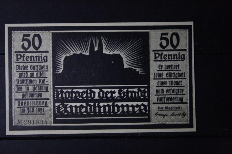 Notgeld Quedlinburg, 50 Pf.