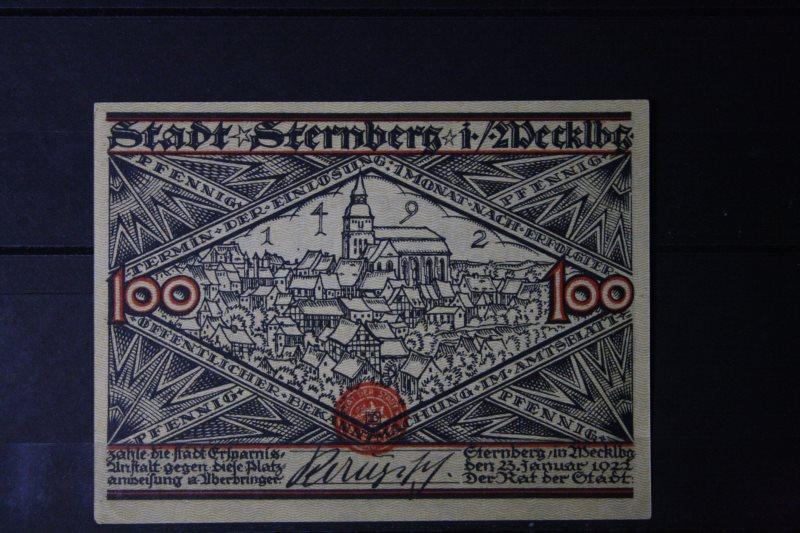 Notgeld Sternberg, 100 Pf.