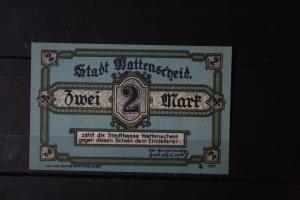 Notgeld Wattenscheid, 2 Mark