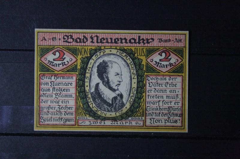 Notgeld Bad Neuenahr, 2 Mark