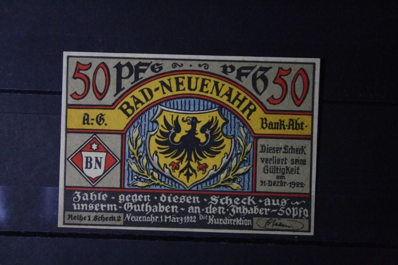 Notgeld Bad Neuenahr, 50 Pf.