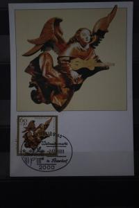 Maximumkarte MK Bundesrepublik Deutschland: Weihnachten 1989