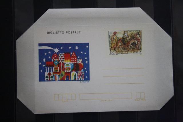 Aerogramm, Leichtbrief Weihnachten 1982