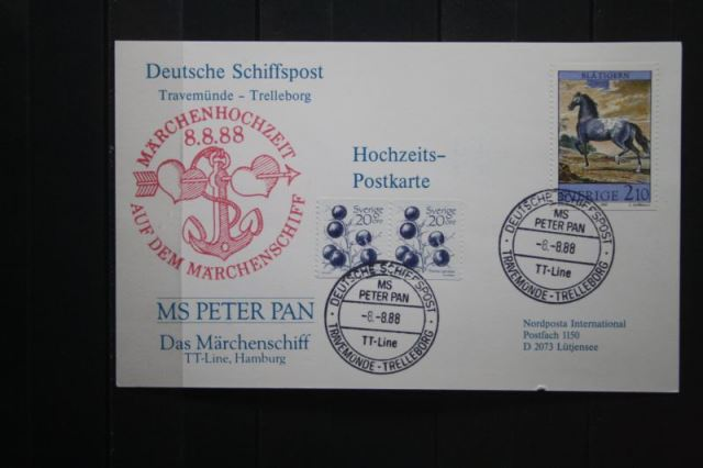 MS Peter Pan der TT-Linie am 8.8.88