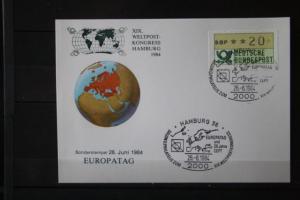 XIX.Weltpostkongreß Hamburg 1984; Set von 7 Karten