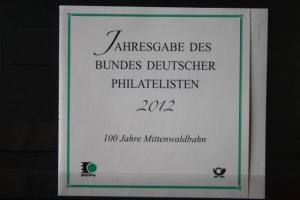 Jahresgabe des BDPh 2012; Mittenwaldbahn