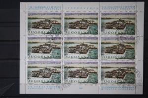 CEPT EUROPA-UNION Jugoslawien Donaukommission 1981; Kleinbogensatz